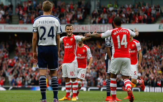 Arsenal player ratings from 4-1 win over West Brom: Walcott & Wilshere dazzle, but Ospina flops