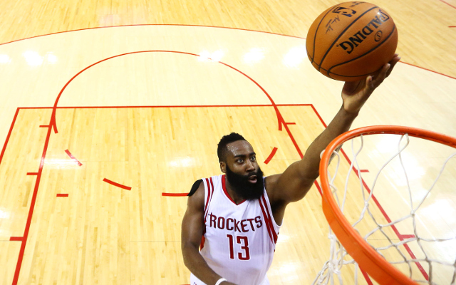 (Video) NBA Playoffs Highlights: James Harden scores 45 points as Houston Rockets stay alive