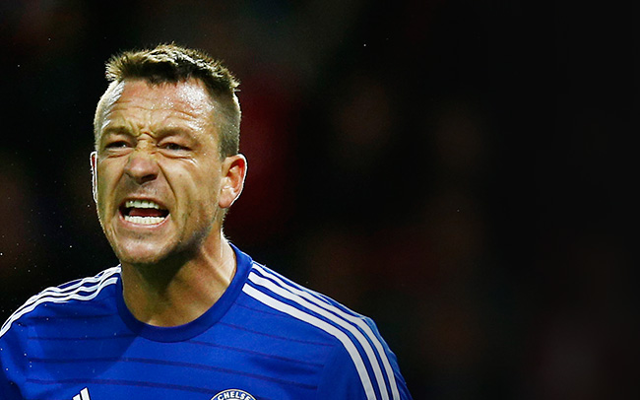 John Terry will be 'very uncomfortable' when Chelsea play Liverpool