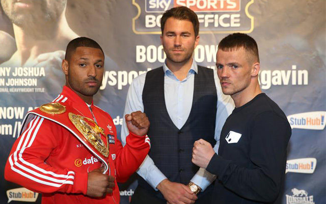 Rule Britannia running order: Kell Brook and Anthony Joshua lead packed card