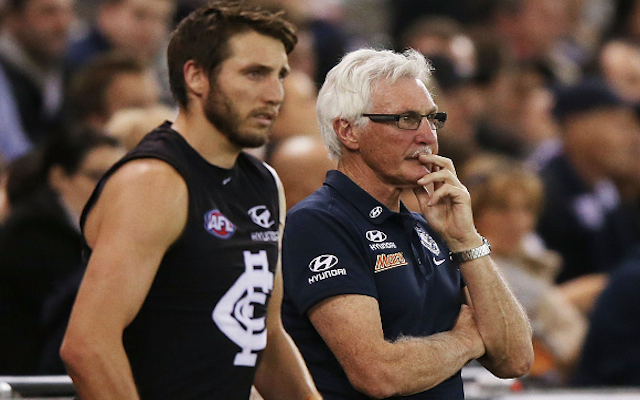 Carlton star Dale Thomas 'disappointed' by Mick Malthouse sacking