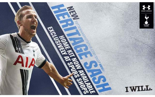 (Video) Tottenham unveil new home kit for 2015/16 season