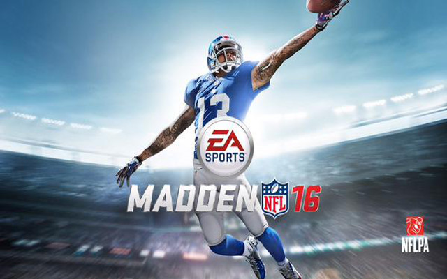 (Video) Odell Beckham Jr. revealed as the cover athlete of Madden NFL 16