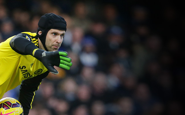 Arsenal favourite has SPOKEN to Chelsea goalkeeper Petr Cech about move to Emirates