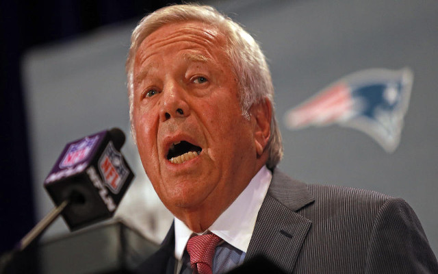 Robert Kraft: New England Patriots will not appeal penalties from DeflateGate