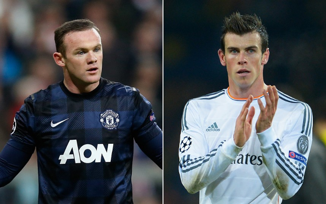 Manchester United could sign £100m Gareth Bale to replace Barcelona-bound Wayne Rooney