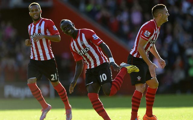(Video) Southampton's Sadio Mane scores fastest Premier League hat-trick