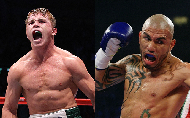 Boxing news: Miguel Cotto and Canelo Alvarez face off ahead of showdown (video)
