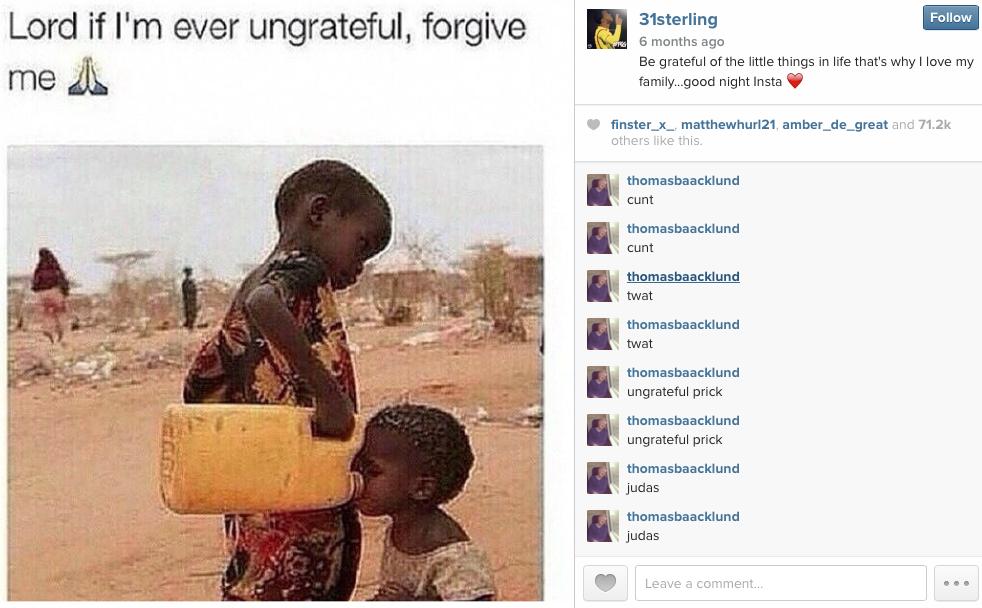 Raheem Sterling instagram