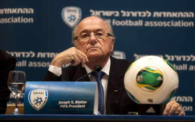 Sepp Blatter offers Israel & Palestine football match over FIFA suspension