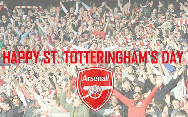 (Images) Arsenal fans troll Spurs for St Totteringham's Day
