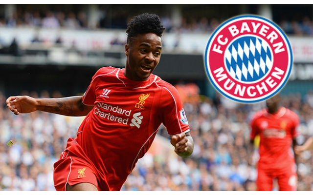 Bayern begin talks with Raheem Sterling's agent: Bundeliga giants seek Ribery replacement