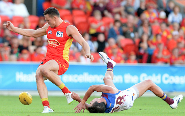 (Video) Steven May: Gold Coast Suns star slapped with controversial ban following bump on Tom Rockliff