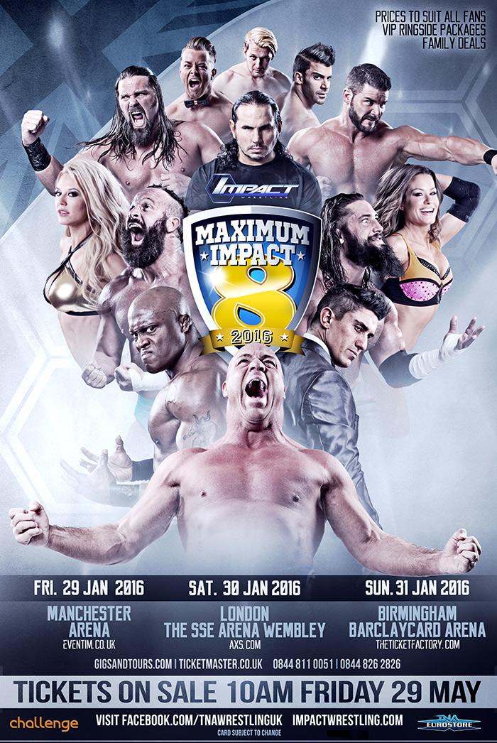 TNA UK Tour 2016 Poster