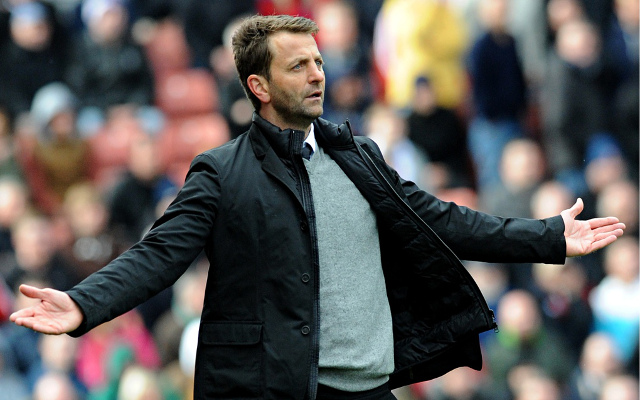 (Video) Tim Sherwood made to look foolish – sacked by Aston Villa day after defiant speech