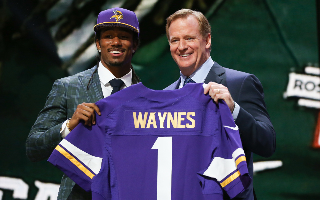 Minnesota Vikings sign entire 2015 draft class to rookie contracts