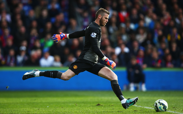 Man United boss says David de Gea OUT of squad vs Aston Villa
