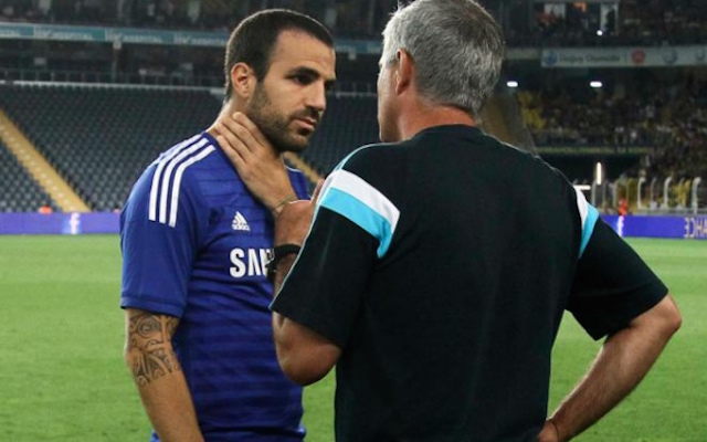Ex-Arsenal skipper Fabregas: My relationship with Mourinho at Chelsea has improved