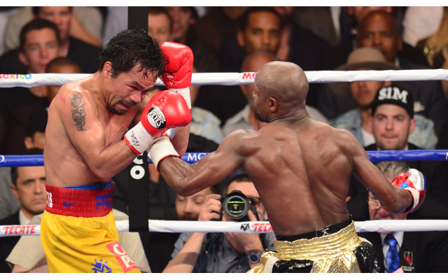 (Video) Mayweather vs Pacquiao: Pac-Man disappoints in one-sided loss