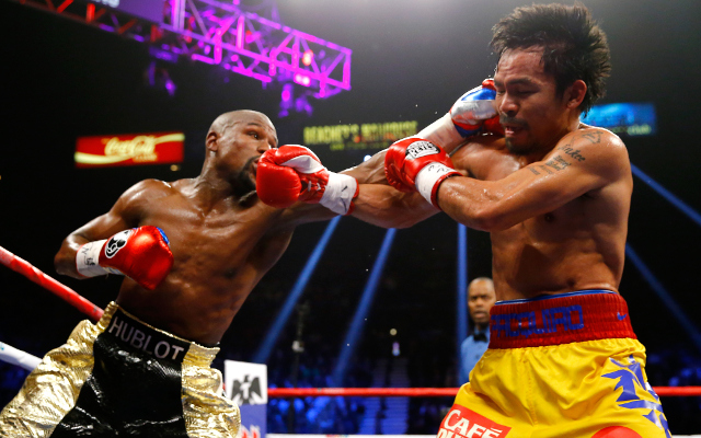 (Video) Floyd Mayweather seals comfortable points win over Manny Pacquiao