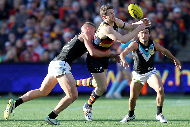 (Video) Adelaide Crows v Port Adelaide highlights: Power's class sees them claim a hard-fought Showdown victory