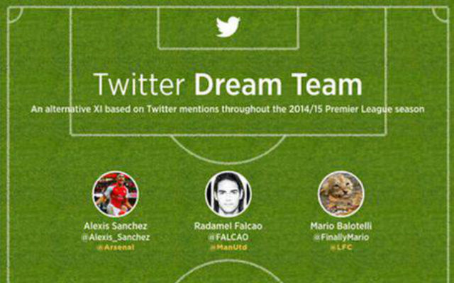 Twitter's team of the season: Only ONE Chelsea star makes the cut