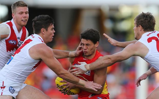 (Video) Gold Coast Suns v Sydney Swans highlights: Swans claim a comfortable victory against sorry Suns