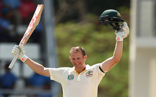 West Indies v Australia: Adam Voges debut century puts visitors in control on second day of first Test