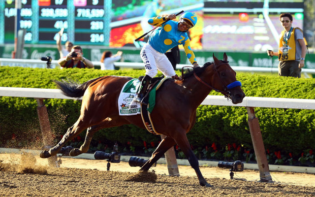 (Video) American Pharoah chases history at Breeder's Cup Classic, seeks first ever Grand Slam