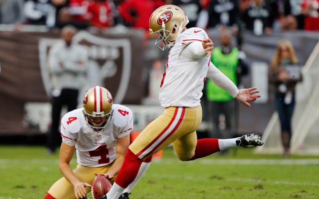 Cleveland Browns acquire punter Andy Lee in trade from San Francisco 49ers