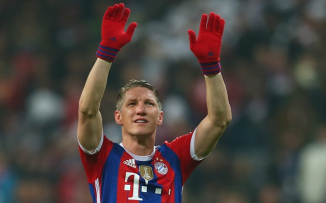 Arsenal flop wishes new signing Bastian Schweinsteiger success at Man Utd in topless Instagram post