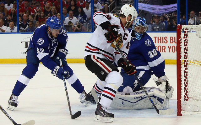 Tampa Bay Lightning goaltender Ben Bishop still uncertain for Game 5
