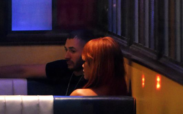 Photos: Rihanna spotted with Arsenal target Karim Benzema at 5am – Wannabe Liverpool owner and friend of Chelsea legend looks rougher than usual