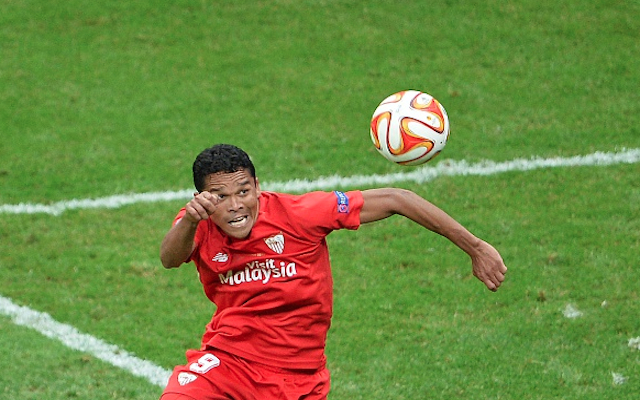 Carlos Bacca transfer: £25m Arsenal target WANTS Liverpool move, according to agent