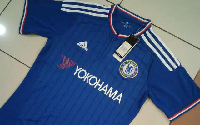 New Chelsea home shirt REVEALED – photos of 2015-16 jersey LEAKED but Adidas refuse to reveal release date