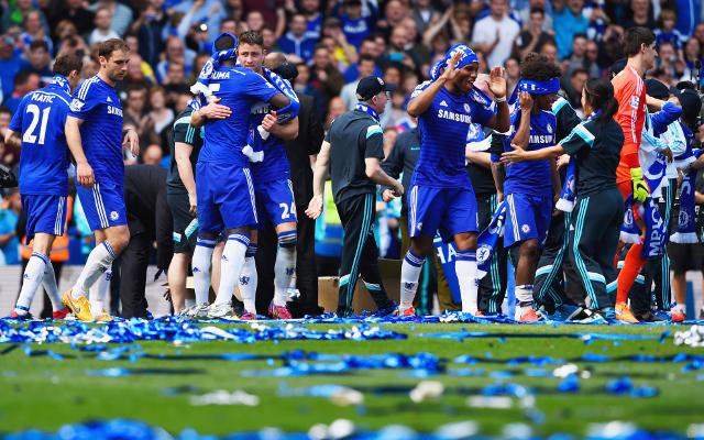 Chelsea title celebrations