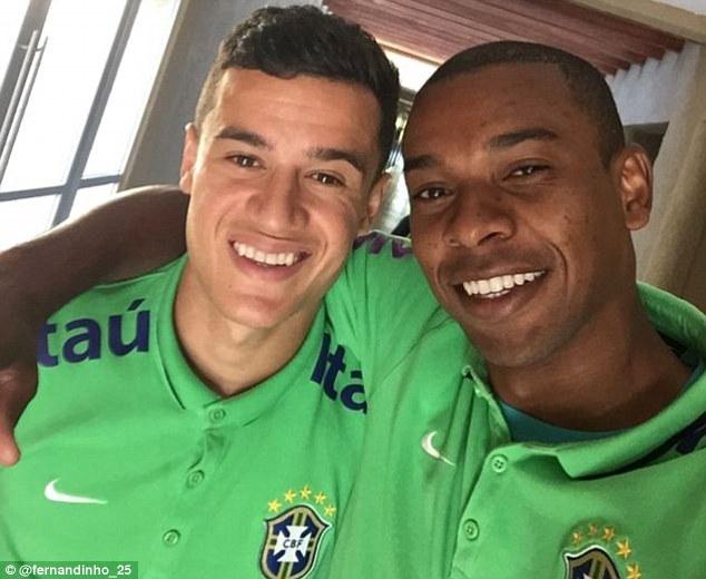 Coutinho and Fernandinho