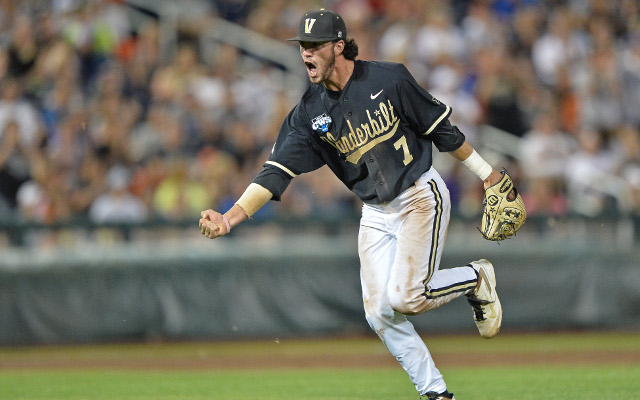 MLB Draft 2015: Arizona Diamondbacks pick SS Dansby Swanson 1st overall