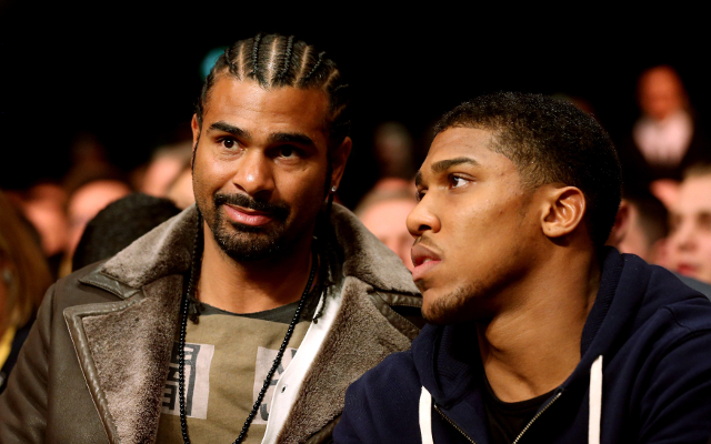 Boxing news: David Haye wants 'massive Wembley fight' with Anthony Joshua