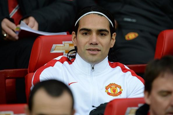 Falcao on the bench