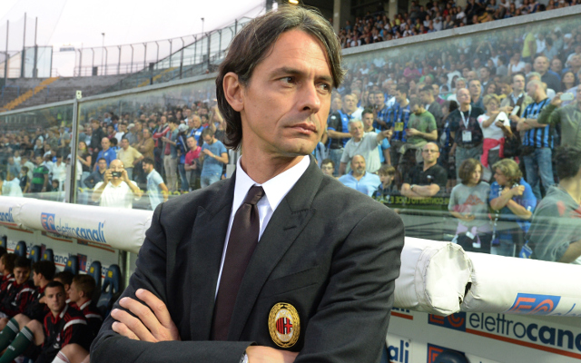 AC Milan relieves Filippo Inzaghi of coaching duties