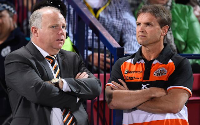 Wests Tigers boss Grant Mayer quits NRL club with immediate effect