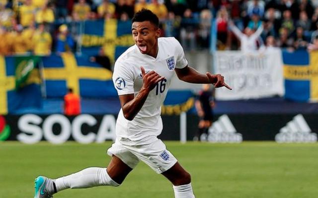 Video: Man United WONDERKID Jesse Lingard scores STUNNING goal to SAVE England at Euro 2015