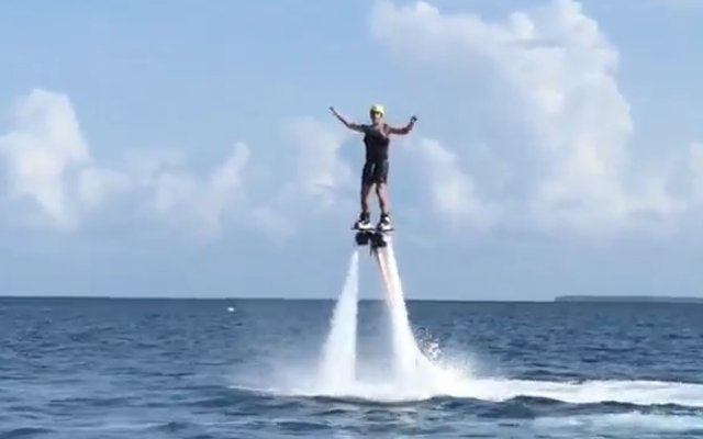Video: John Terry can fly! Chelsea captain looks like Iron Man as he seeks thrills on holiday