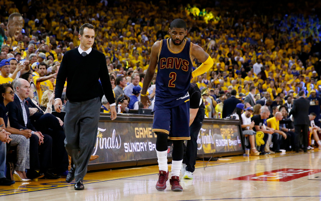 Cleveland Cavaliers PG Kyrie Irving out for remainder of NBA Finals after leaving Game 1