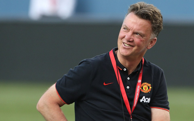 Louis van Gaal pokes fun at critics of Manchester United style of play (video)