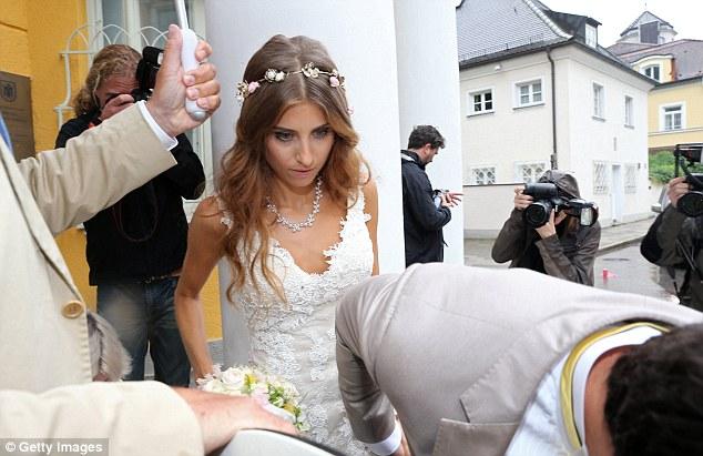 Mats Hummels's wife Cathy Fischer
