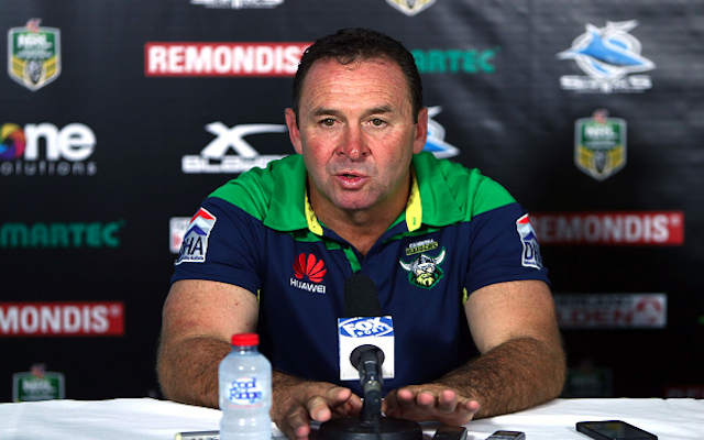 Canberra Raiders to appeal $20k fine following Ricky Stuart's press conference walk-out