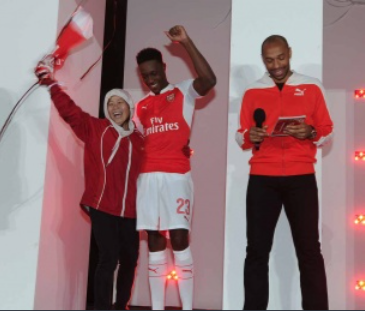 Arsenal kit launch