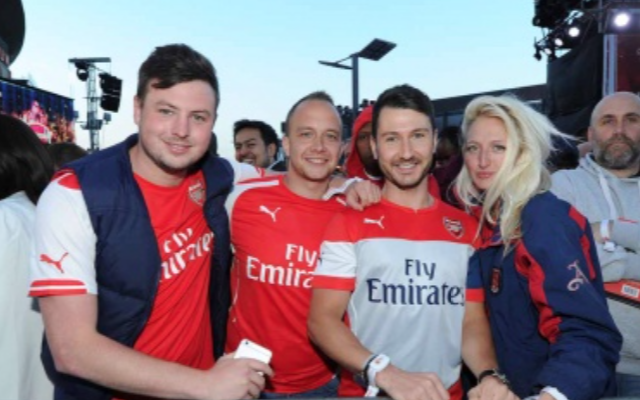 Arsenal kit launch in pictures: Henry hosts, Monreal models & fans fill streets as new jersey is UNVEILED
